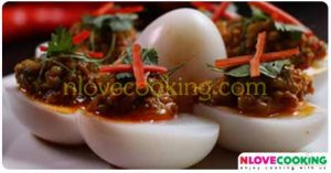 แกงไข่ไล่ทุ่ง อาหารไทย เมนูไข่ สูตรอาหาร