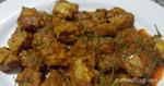 แกงคั่วกระดูกอ่อน อาหารไทย เมนูหมู กับข้าวจากหมู