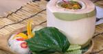 แกงคั่วมะพร้าวอ่อนใบชะพลู อาหารไทย เมนูกุ้ง เมนูพริกแกง