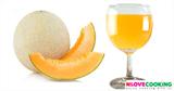 น้ำแคนตาลูป สูตรเครื่องดื่ม น้ำผลไม้ เมนูคลายร้อน