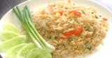อาหารจานเดียว อาหารไทย ข้าวผัดไข่ เมนูไข่