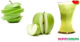 น้ำแอปเปิ้ลเขียว สูตรเครื่องดื่ม น้ำผลไม้ เมนูคลายร้อน