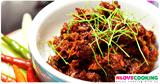 อาหาร สูตรอาหาร น้ำพริกปลาร้าผัด อาหารไทย