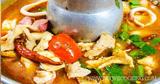 อาหารไทย ต้มยำรวมมิตรทะเล ต้มยำ เมนูอาหาร