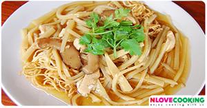 โกยซิหมี่ อาหารจีน เมนูเส้น เมนูไก่