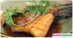 ปลาช่อนทอดน้ำปลา อาหารไทย เมนูปลา เมนูทอด
