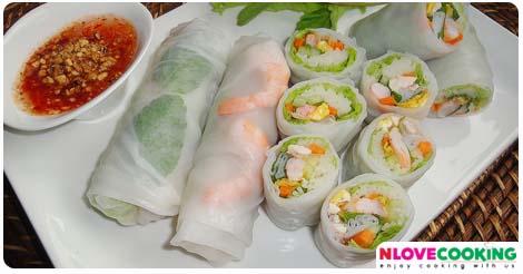 ปอเปี๊ยะเวียดนาม,วิธีทำปอเปี๊ยะเวียดนาม,อาหารเวียดนาม,อาหารสุขภาพ
