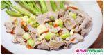 หมูมะนาว วิธีทำหมูมะนาว สูตรหมูมะนาว อาหารไทย