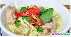 แกงเขียวหวานไก่ อาหาไทย เมนูไก่ เมนูแกง