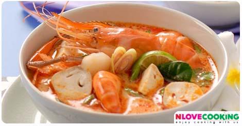 ต้มยำกุ้ง สูตรต้มยำกุ้ง วิธีทำต้มยำกุ้ง อาหารไทย