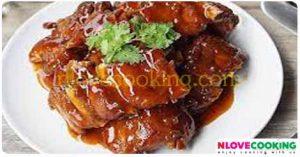 ซี่โครงหมูหวาน หมูหวาน อาหารไทย เมนูหมู