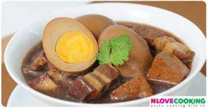 ไข่พะโล้ วิธีทำไข่พะโล้ สูตรไข่พะโล้ เมนูไข่