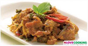 ผัดเผ็ดปลาดุก ปลาดุกผัดเผ็ด ผัดเผ็ด อาหารไทย