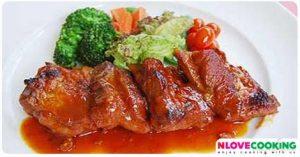 ซี่โครงหมูสามรส เมนูซี่โครงหมู อาหารไทย เมนูหมู