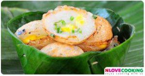 ขนมครก วิธีทำขนมครก อาหารไทย ขนมไทย