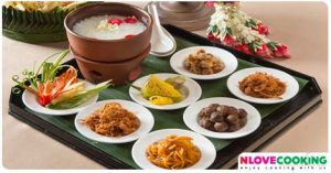 ข้าวแช่ อาหารไทย อาหารไทยโบราณ อาหารชาววัง