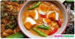 น้ำพริกไข่เค็ม สูตรอาหาร อาหารไทย น้ำพริก