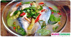 ต้มยำปลาทู อาหารไทย เมนูปลา เมนูอาหาร