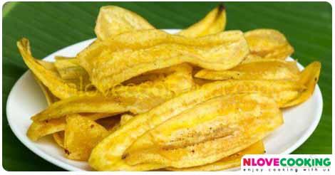 กล้วยฉาบ อาหารไทย ขนมไทย แปรรูปกล้วย
