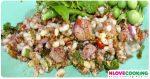 ก้อยไข่มดแดง เมนูยำ อาหารอีสาน อาหารไทย