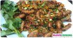 ไส้อ่อนผัดพริกเกลือ อาหารไทย เมนูไส้อ่อน เมนูผัด