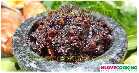 น้ำพริกสุโขทัย อาหารไทย เมนูน้ำพริก สูตรอาหาร