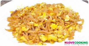 ไชโป้วผัดไข่ สูตรอาหาร เมนูไข่ เมนูผัด
