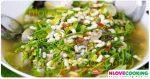 แกงผักหวานป่าใส่ไข่มดแดง แกงอีสาน อาหารไทย เมนูแกง