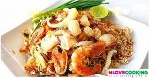 ผัดไท ผัดไททะเล อาหารไทย เมนูเส้น