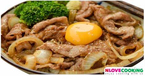 หมูผัดขิง ดชกะยากิ อาหารญี่ปุ่น เมนูหมู