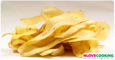 กล้วยฉาบ กล้วยทอด เมนูทอด ขนมไทย