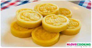 ขนมถั่วทอง ขนมมงคล ขนมไทย ขนมหวาน