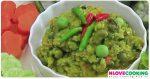 น้ำพริกมะเขือพวง อาหารไทย น้ำพริก