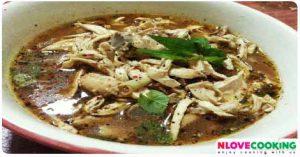 ยำจิ้นไก่ อาหารเหนือ อาหารไทย แกงไก่