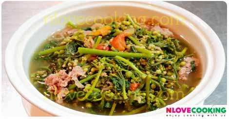 แกงผักปั๋ง จอผักปั๋ง อาหารไทย อาหารเหนือ