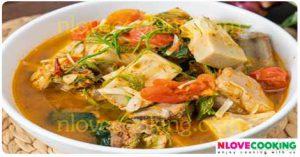 แกงขนุนซี่โครงหมู แกงบ่าหนุน อาหารไทย เมนูหมู