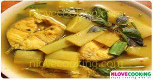 แกงตูนปลา แกงปลาใส่ตูน อาหารไทย อาหารเหนือ