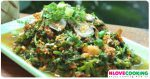 ยำสะนัด ยำสะนับ อาหารเหนือ อาหารไทย