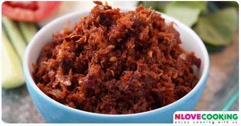 น้ำพริกตาแดง อาหารไทย น้ำพริก