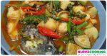 แกงป่าปลาช่อน อาหารไทย เมนูแกง เมนูปลา