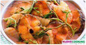 แกงส้มปลาช่อนผักรวม อาหารไทย เมนูแกง เมนูปลา