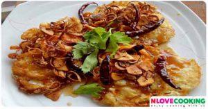 ไข่ทอดสามรสไข่ดาวราดซอส เมนูไข่ อาหารไทย