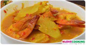 แกงเหลืองมะละกอ อาหารไทย อาหารใต้ เมนูแกง